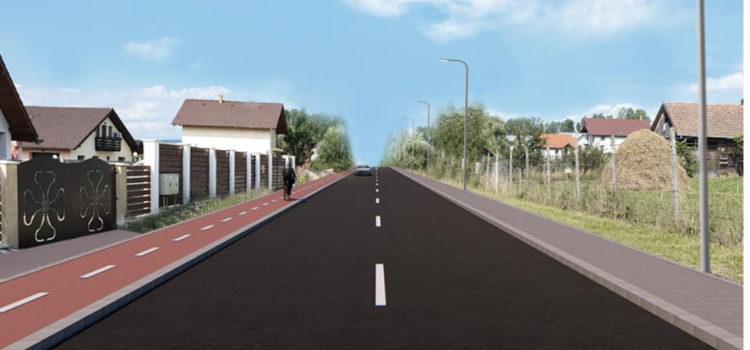Reabilitare și modernizare Strada Valea Ghinzii