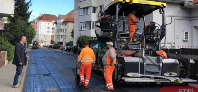 Din 6 aprilie, primăria Bistrița vrea să treacă la modernizarea primelor 19 din cele 50 de străzi cuprinse în programul de asfaltare