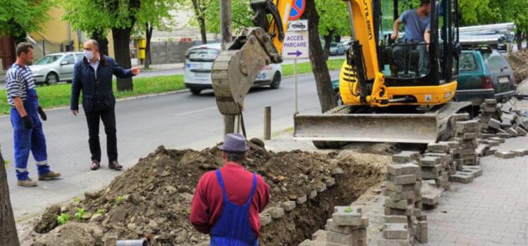 Niculae: A-nceput lucrul la modernizarea și reabilitarea iluminatului public!