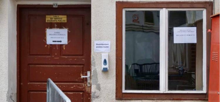 Noi măsuri care să prevină răspândirea Covid-19 în interiorul Primăriei și către cetățeni