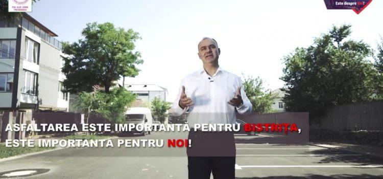 Nicio stradă din oraș nu va rămâne neasfaltată! (VIDEO)