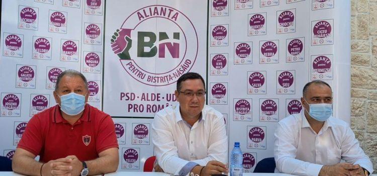 Victor Ponta susține candidații Alianței pentru Bistrița-Năsăud!